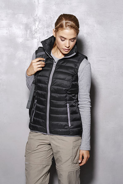 Active Padded Gilet Donna